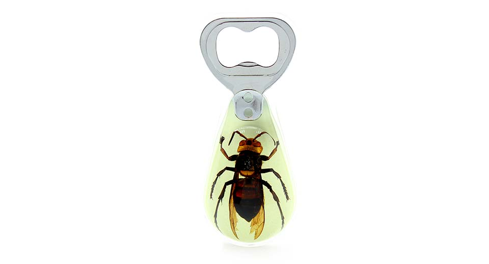 bee amber glow bottle opener light green at fasttech worldwide free shipping. Black Bedroom Furniture Sets. Home Design Ideas