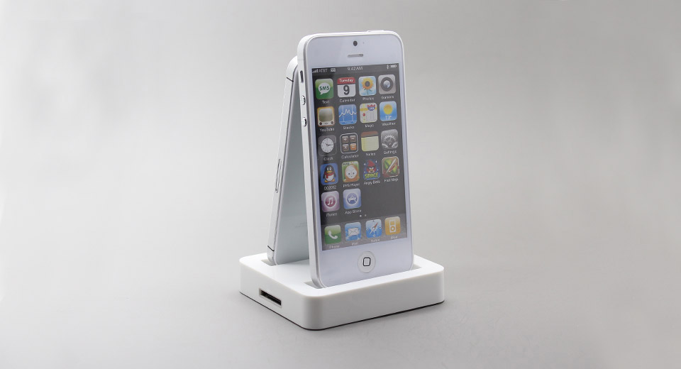 2-in-1 Data Sync / Charging Docking Station for iPhone 4 / 4S / 5