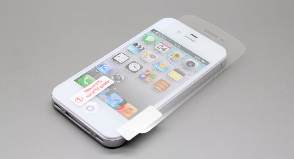 Clear Screen Protector for iPhone 4/4S