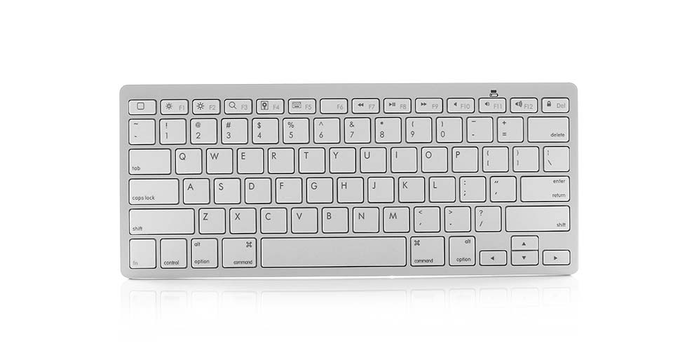 2.4GHz Bluetooth Wireless 78-Key Keyboard (2 x AAA) 2*A
