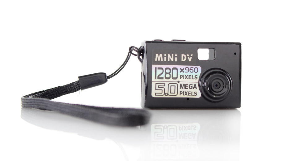 Ultra Mini Screen-Free Digital Stills/Video Camera rech