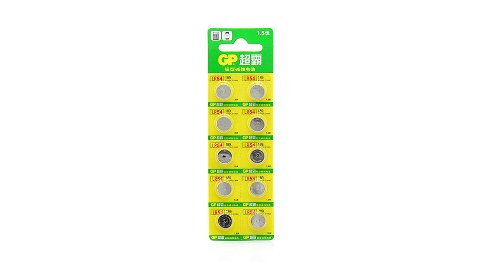 Product Image: authentic-gp-za13-pr48-14v-cell-button-batteries-6