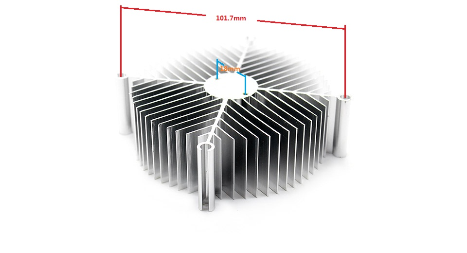 90*90*30mm Aluminum Heatsink