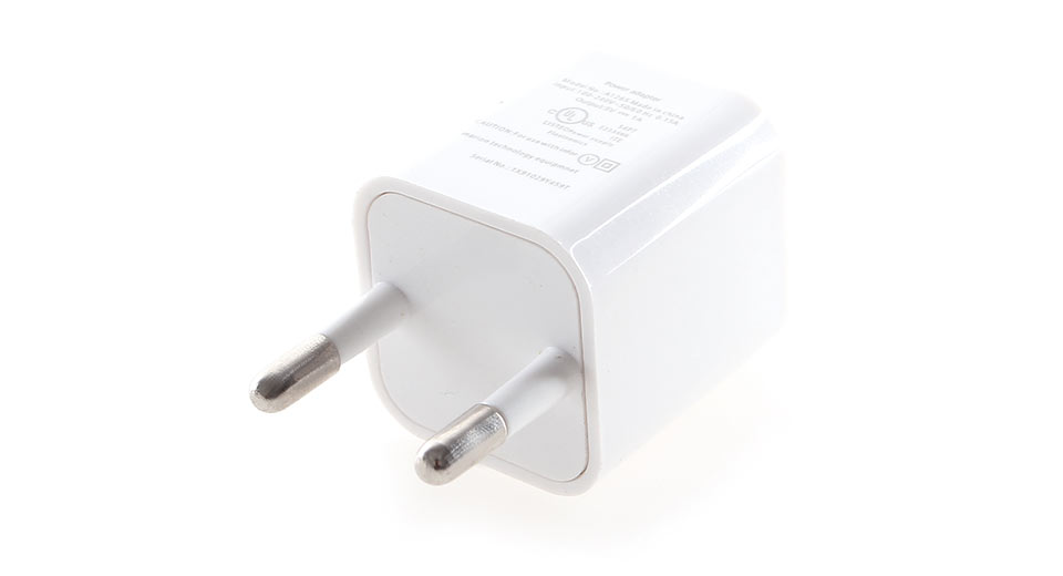 USB Power Adapter + 8-pin to USB Data / Charging Cable for Apple iDevices