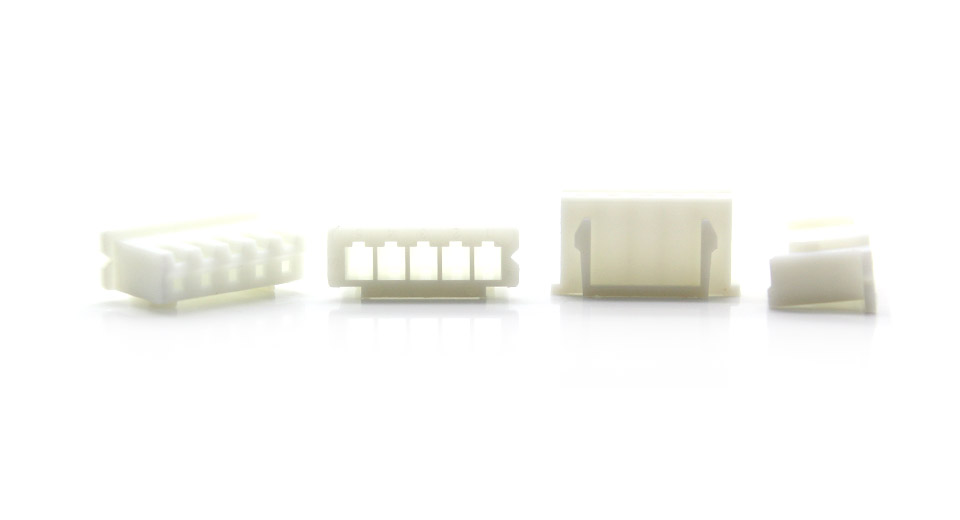 1*5-pin 2.54mm Connectors - XH2.54-5P (100-Pack)