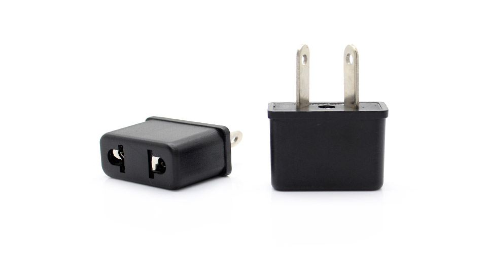 Universal AU Travel AC Power Adapter Plugs (2-Pack) AU