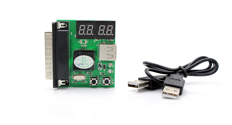 4-Digit Codes Laptop Diagnostic Card