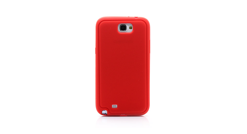 Protective Silicone Back Case for Samsung Galaxy Note I