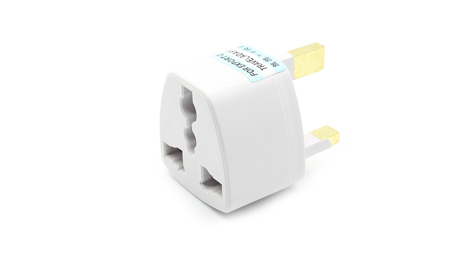 Universal UK Travel Charger Plug Adapter