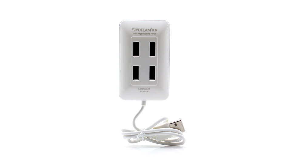 Siyoteam compact usb 2 0 hi speed 4 port hub white - How to know which usb port is high speed ...