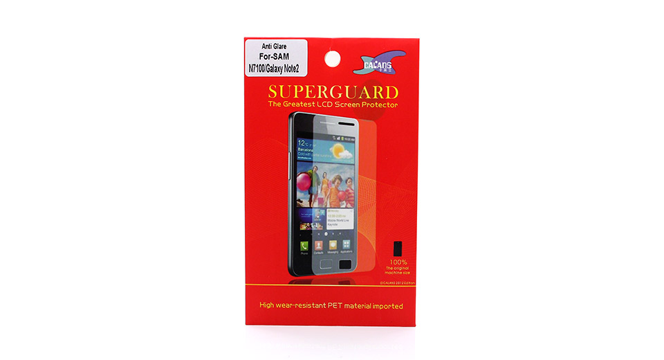 Matte Screen Protector for Samsung Galaxy Note II N7100