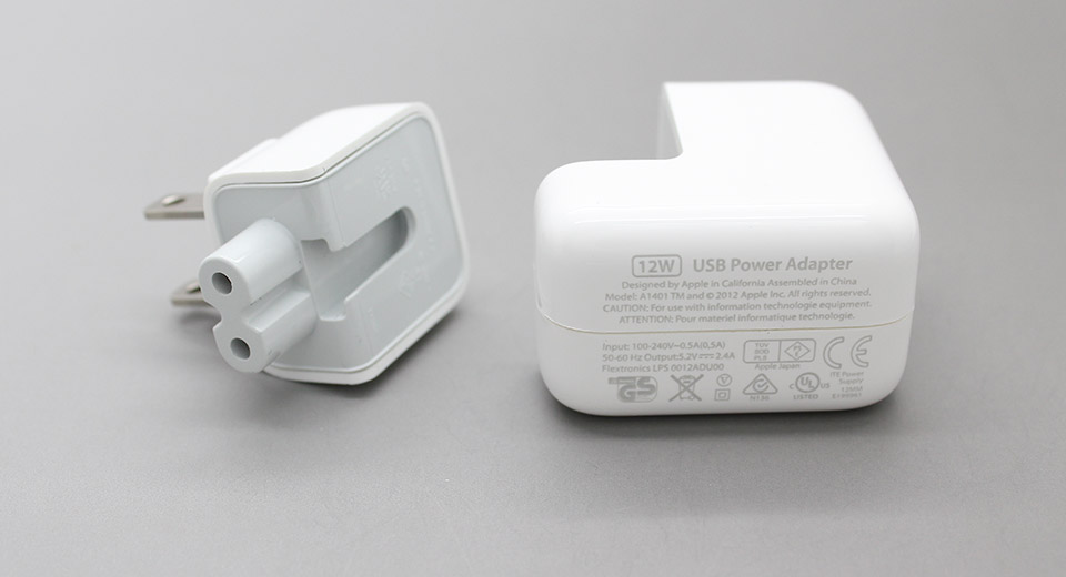 USB AC Power Adapter + USB to 8-pin Data / Charging Cab