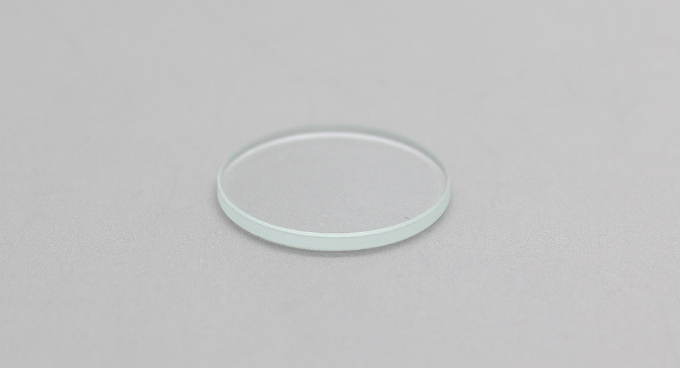 Optical Glass Lens 20mm*1.6mm / smoothed edges