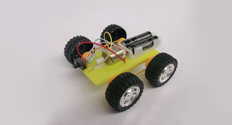DIY Electric 4WD Car fun for kids easy for you