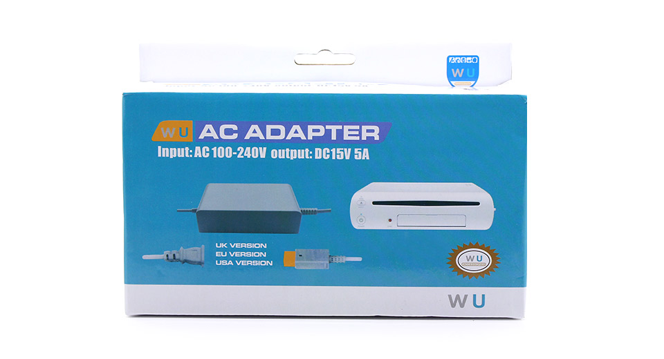 SND-318 AC Power Adapter / Charger for Wii U Console