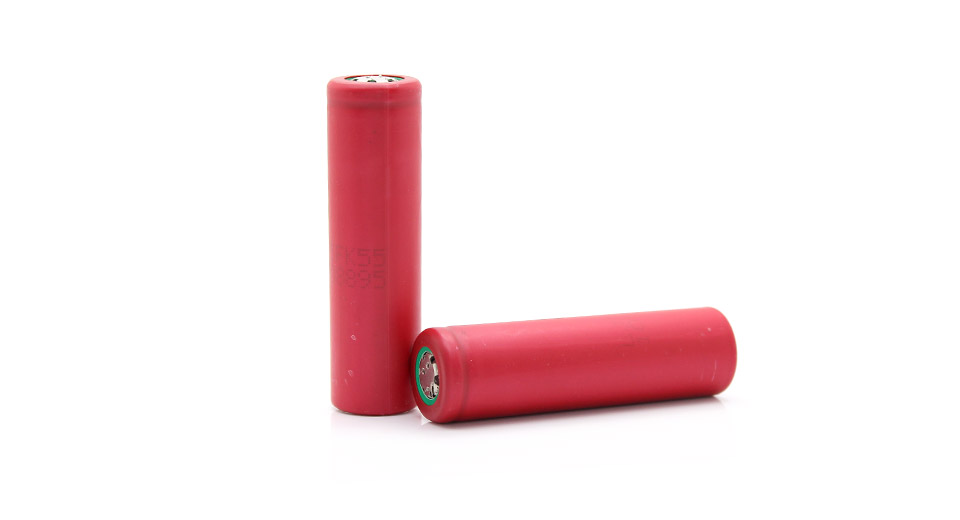 As-Is Sanyo 18650 2400mAh 3.6V Rechargeable Lithium Bat