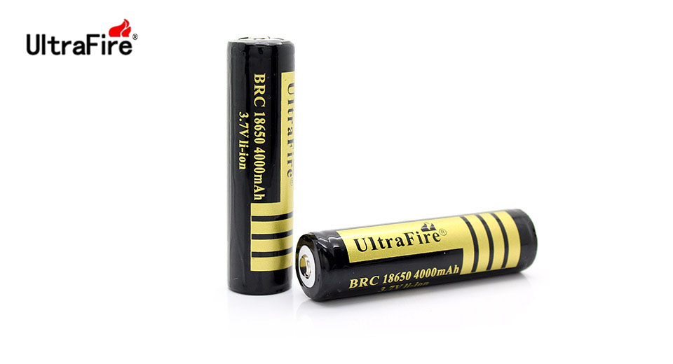 Product Image: ultrafire-brc-18650-3-7v-4000mah-protected