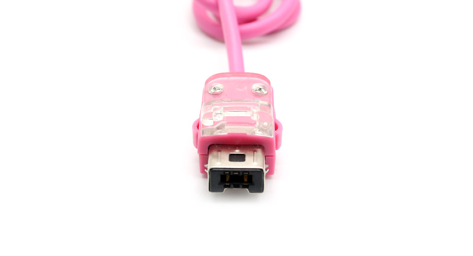 Neutral Nunchuck Controller for Wii pink