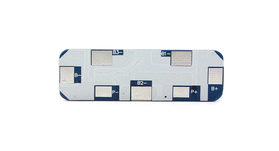 T-5016A15 8A Battery BMS Protection PCB Board for 3-cell Rechargeable Li-Ion Battery Packs