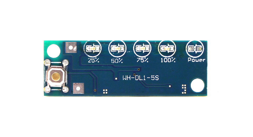 WH-DL1-7S SOC Indicator for Single Cell Li-Ion Lithium