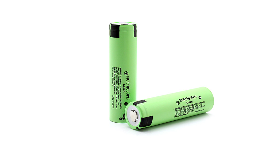 Product Image: authentic-panasonic-ncr18650pd-18650-3-6v-2900mah
