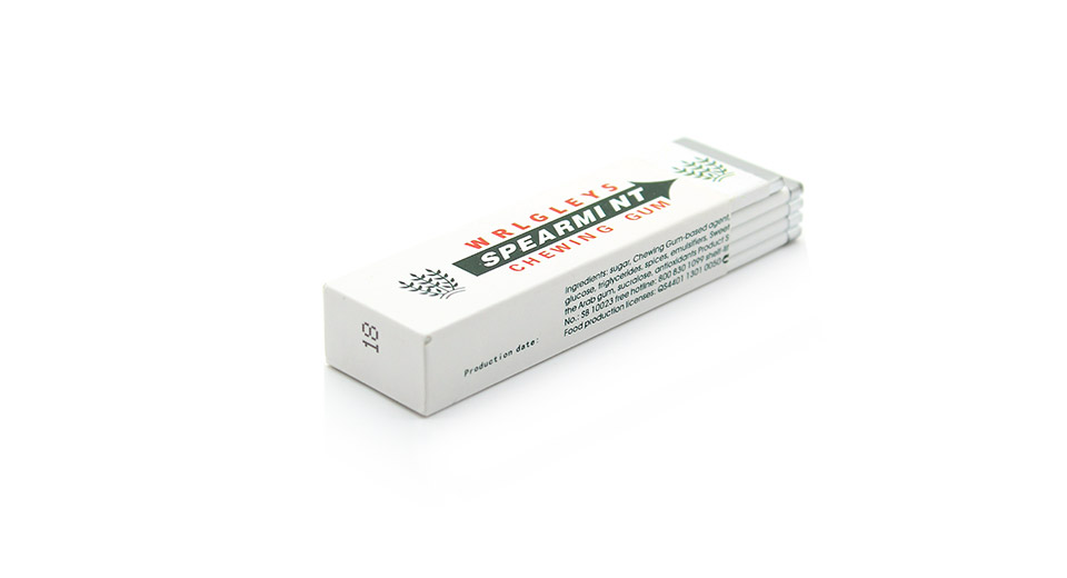 Shock-Your-Friend Electrostatic Chewing Gums white
