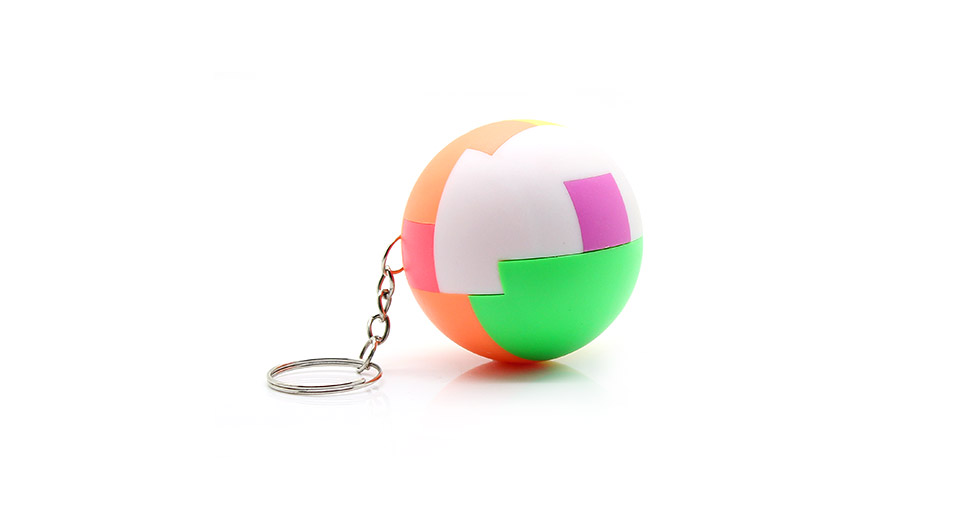 72 JY Ball Puzzle Brain Teaser Magic Sphere with Keychain - colored ...
