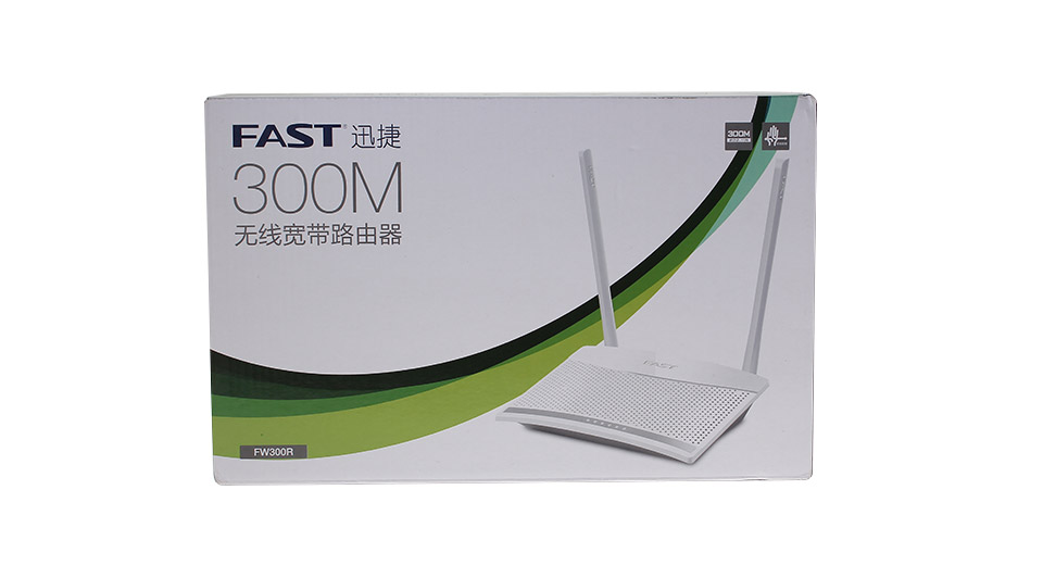 FAST FW300R 2.4GHz 802.11b/g/n 300Mbps Wireless Router
