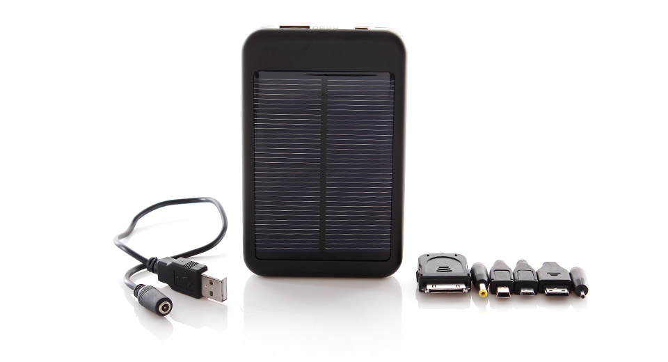 Product Image: 0-7w-solar-powered-5000mah-mobile-power-bank