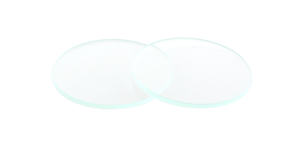 Glass Lens for C8 LED Flashlights (2-Pack) 41.7mm*2.0mm