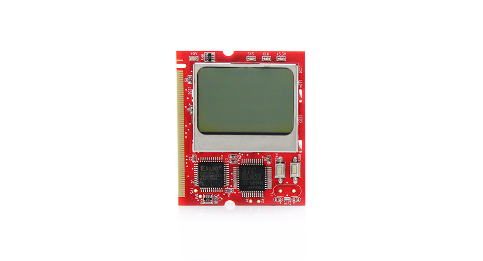 Laptop LCD Diagnostic Test Mini PCI Card Analyzer