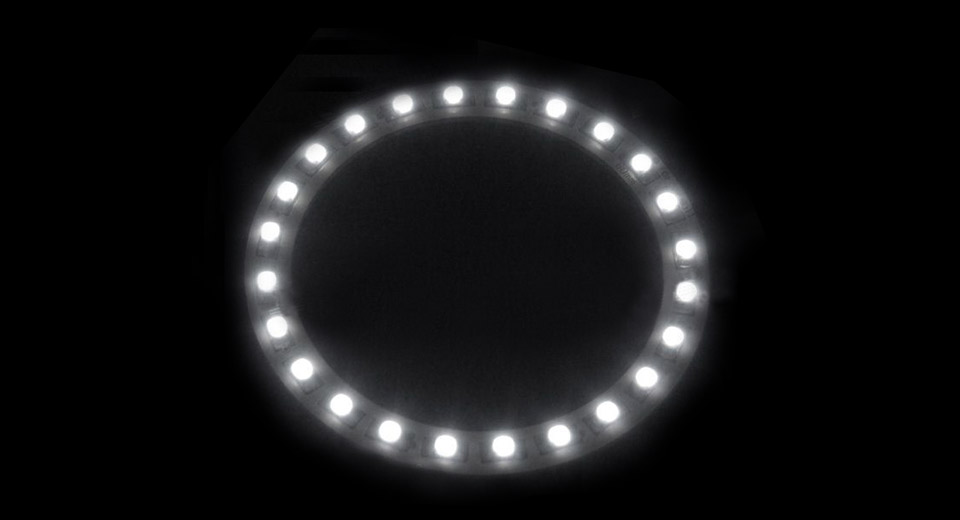 Product Image: t10-24-led-white-light-car-angel-eye