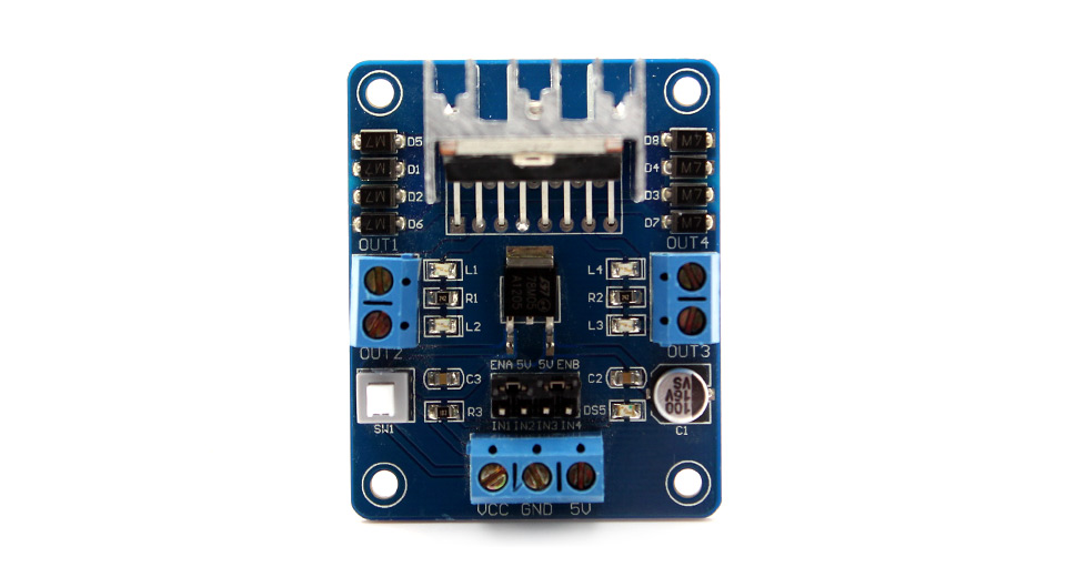 L298N Motor Driver Controller Board Module for DC & Ste