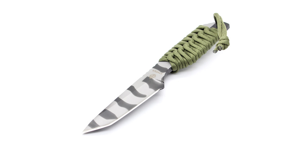 Steel Knife with Pouch blade length: 9cm / full-length:
