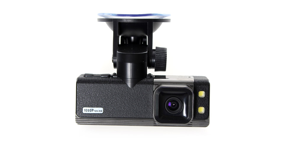 GS2000 1.5 TFT Full HD 1080P Car DVR Camcorder with 2-L