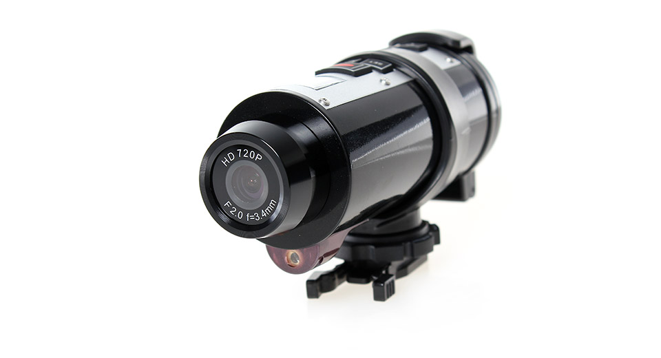 AT10 HD 720P CMOS Waterproof Sports Action Vehicle Car