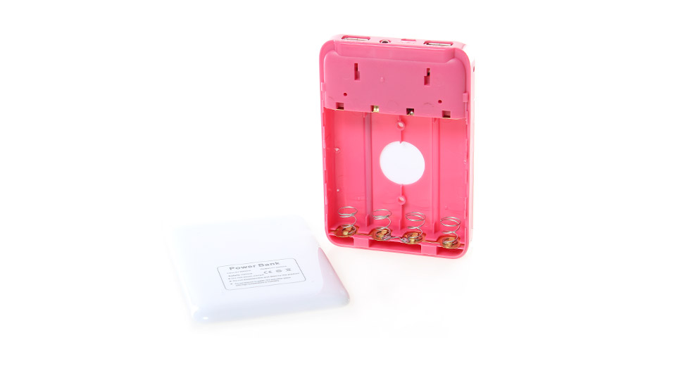 Vogue 4*18650 2-Port USB Mobile Emergency Power Pack re