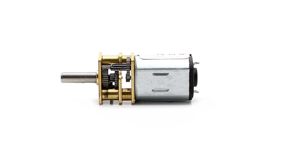 6v dc gear motor ga12yn20 100rpm no load