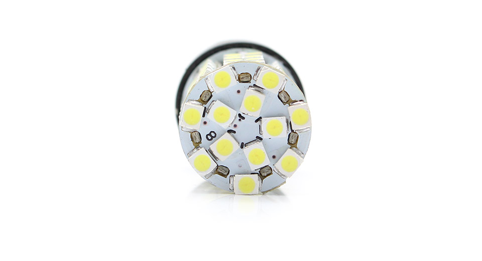 T20 4.5W 204lm 68-SMD 3528 LED White Light Car Brake /