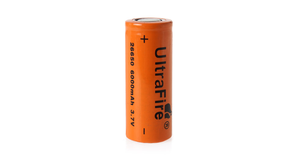 Product Image: ultrafire-26650-3-7v-6000mah-rechargeable-li-ion