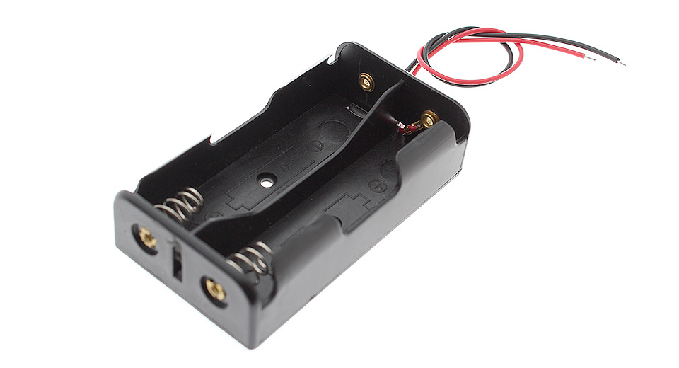 Product Image: 2-18650-parallel-battery-case-with-lead-wires