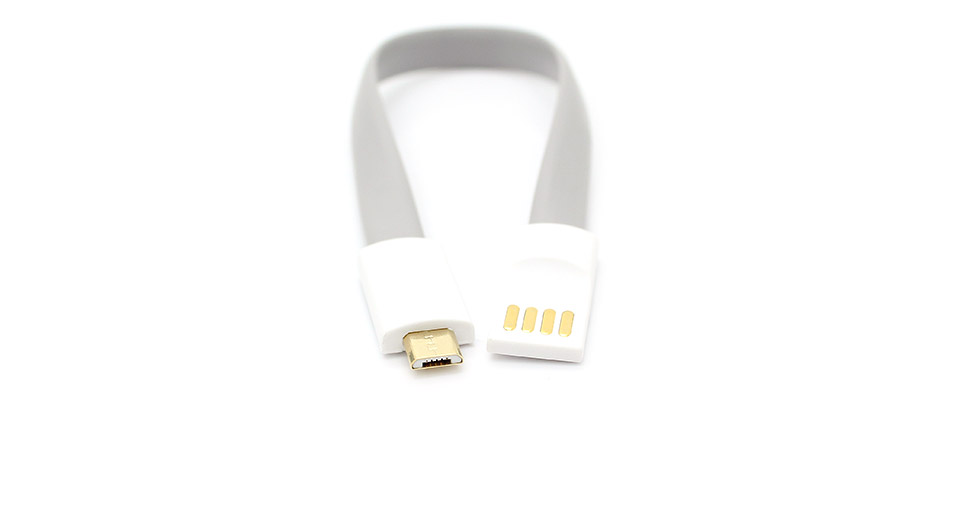 VOJO Magnet USB Male to Micro USB Male Data/Charging Cable