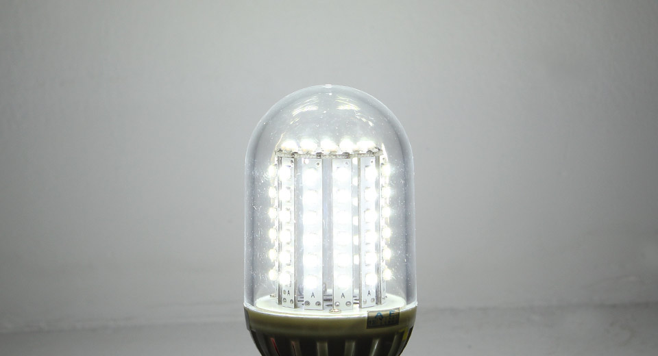 E27 5.5W 90-LED 550-Lumen 6200K Normal White Light Bulb