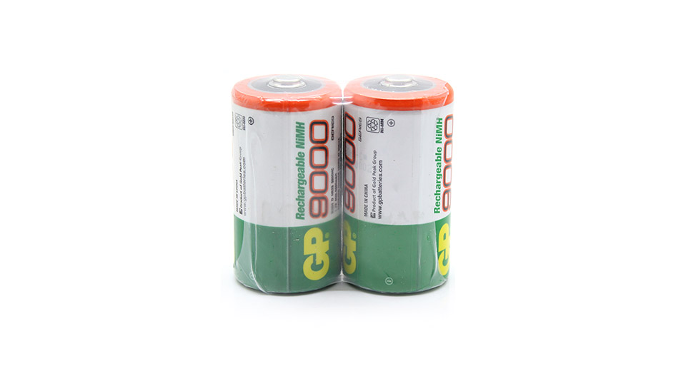 Product Image: gp-12v-9000mah-rechargeable-ni-mh-d-size-batteries