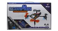 WLtoys V202 Scorpion 2.4GHz 4-Channel R/C Quadcopter with Built-in Gyroscope