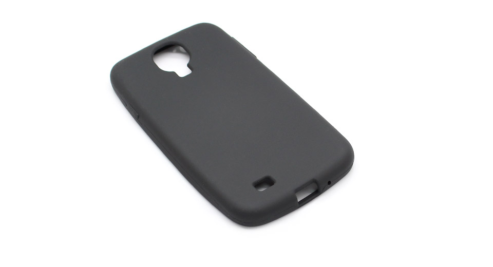 Protective Silicone Back Case for Samsung Galaxy S4 / i