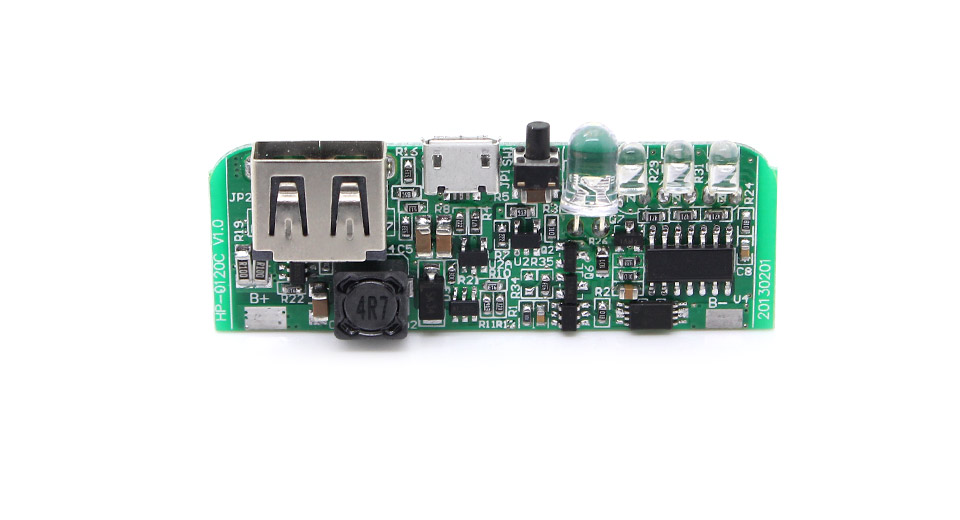 Product Image: hp-0120-1a-diy-single-usb-mobile-power-bank-pcb