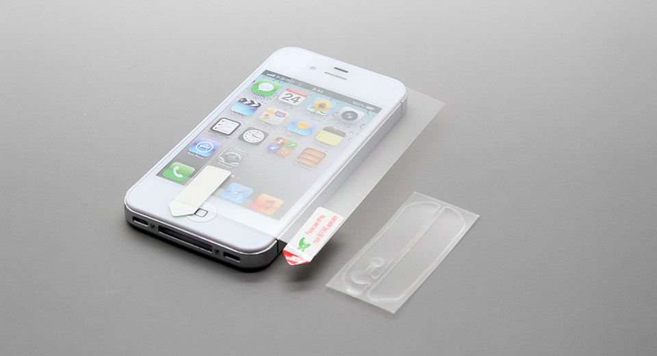 Matte Back Case Screen Protector for iPhone 5