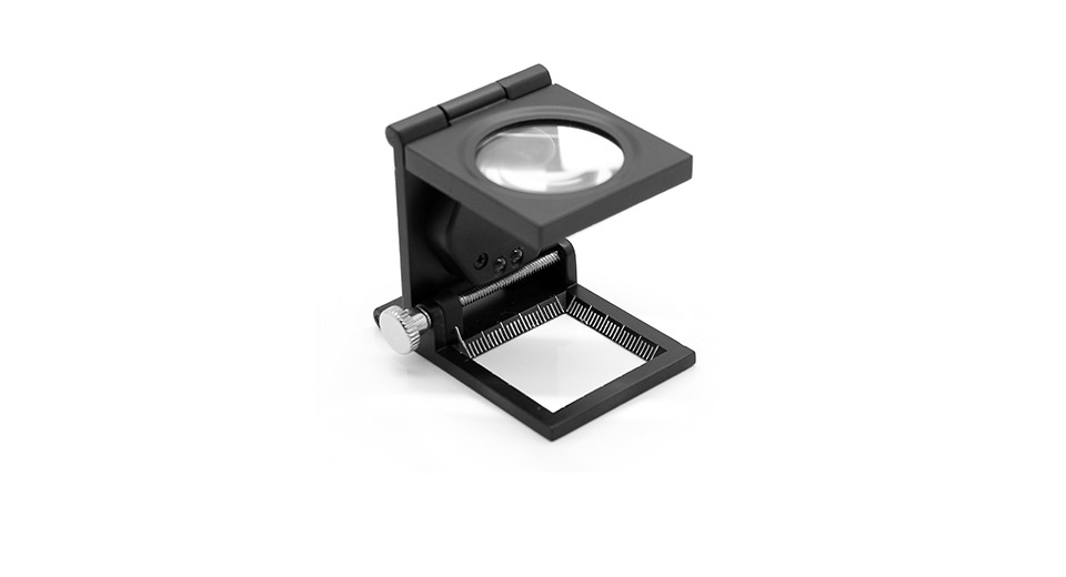 WLXY TH 9005A Portable 288mm 8X Magnifier With White 2 LED Light