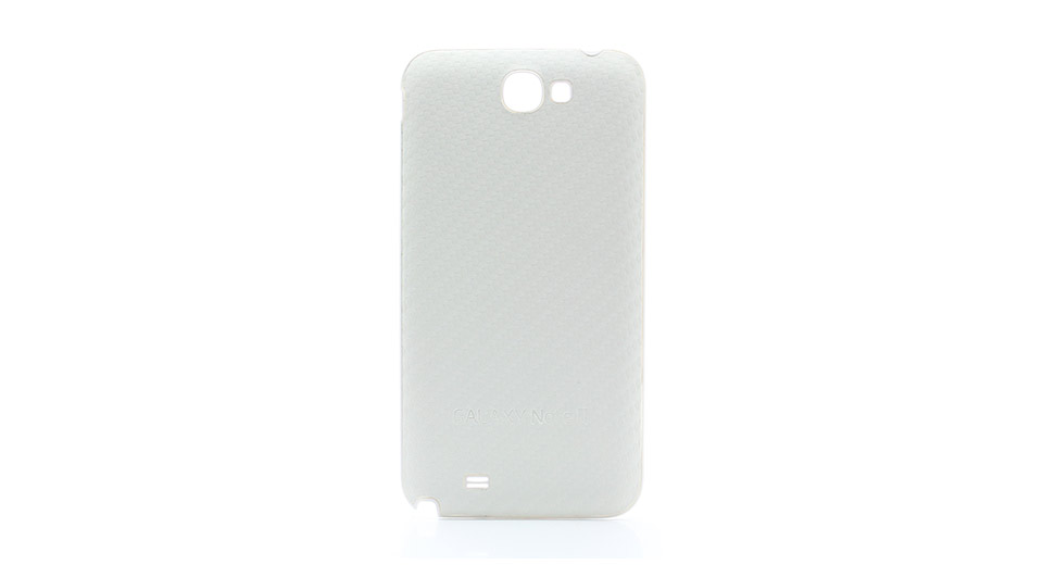 Woven Pattern Back Cover Case for Samsung Galaxy Note II